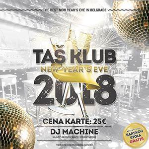 Taš Klub Doček Nove 2019 godine