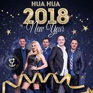 Splav Hua Hua Doček Nove godine 2019