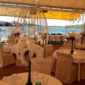 Splav restoran Gabbiano za proslave
