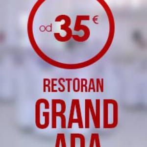 Restoran Grand Ada - Doček Nove godine 2019