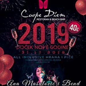 Restoran Carpe Diem Nova godina 2019