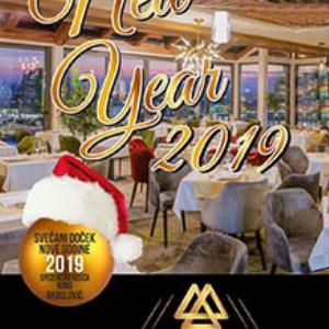 Hotel Amsterdam Doček Nove godine 2019