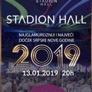 Restoran Stadion Hall Srpska Nova godina 2019