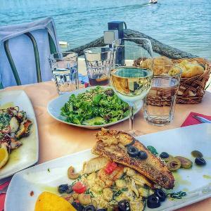Restoran Reka Beograd, reka