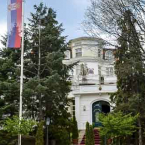 Vila Jelena Beograd Lokacija