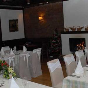 Restoran Devetka za proslave kamin sala