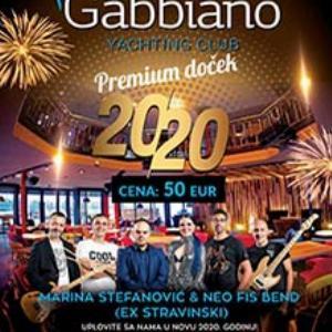 Restoran Gabbiano doček Nove godine