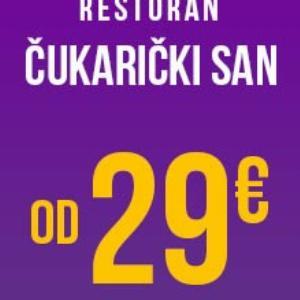 Restoran Čukarički San Doček Nove godine