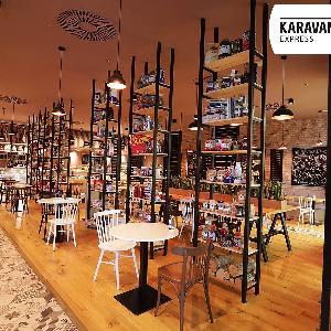 Karavam Express, Karavan Express Beograd, restoran Karavan Express