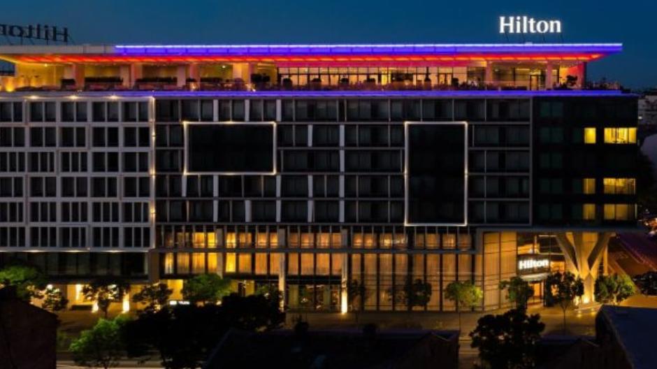 SKY LOUNGE BAR HOTEL HILTON nova godina beograd