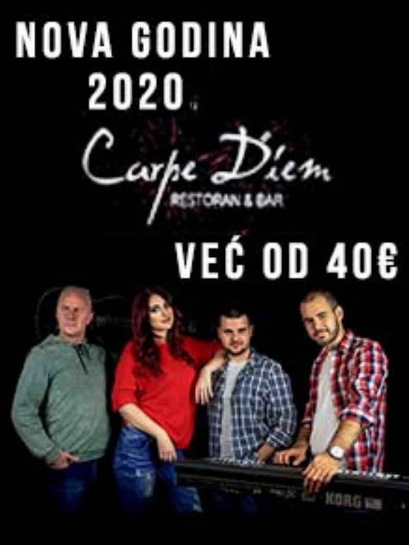 Restoran Carpe Diem Nova godina