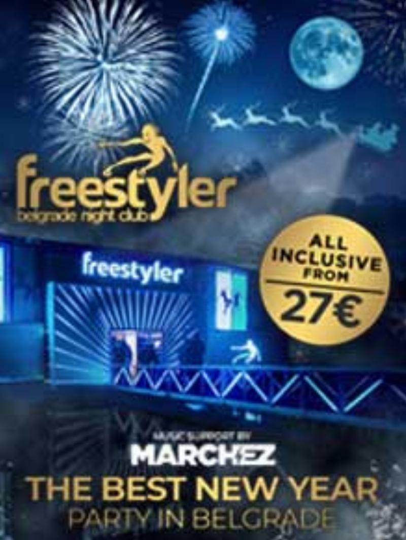 Splav Freestyler Nova godina