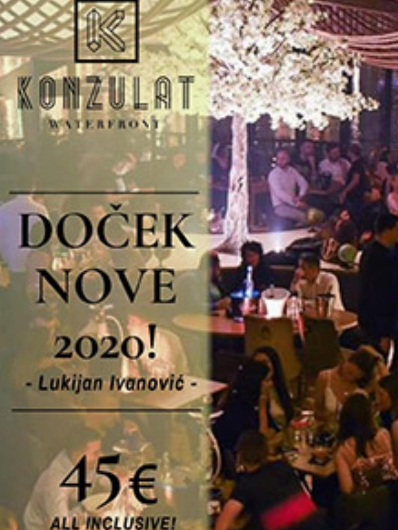 Splav Konzulat Waterfront Nova godina