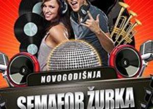 Semafor Žurka doček Nove godine