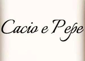 Restoran Cacio e Pepe
