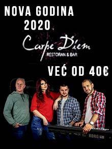 Restoran Carpe Diem Nova godina Kuda Veceras