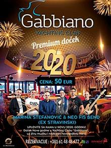 Restoran Gabbiano doček Nove godine Kuda Veceras