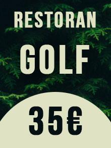 Restoran Golf Nova godina Kuda Veceras