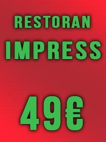 Restoran Impress Nova godina Kuda Veceras