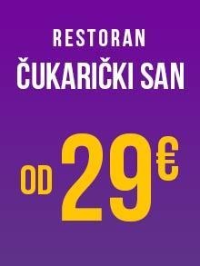 Restoran Čukarički San Doček Nove godine Kuda Veceras
