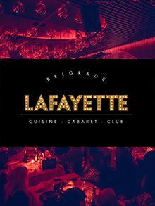 Klub Lafayette Matinee Kuda Veceras