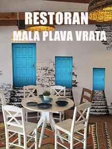 Restoran Mala plava vrata Nova godina Kuda Veceras