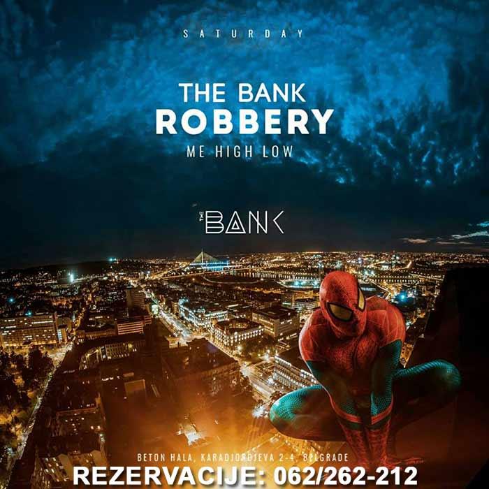Klub The Bank Beograd - SUBOTA