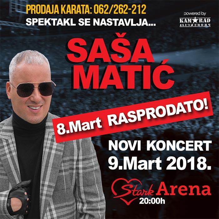 Sasa Matic Beogradska Arena