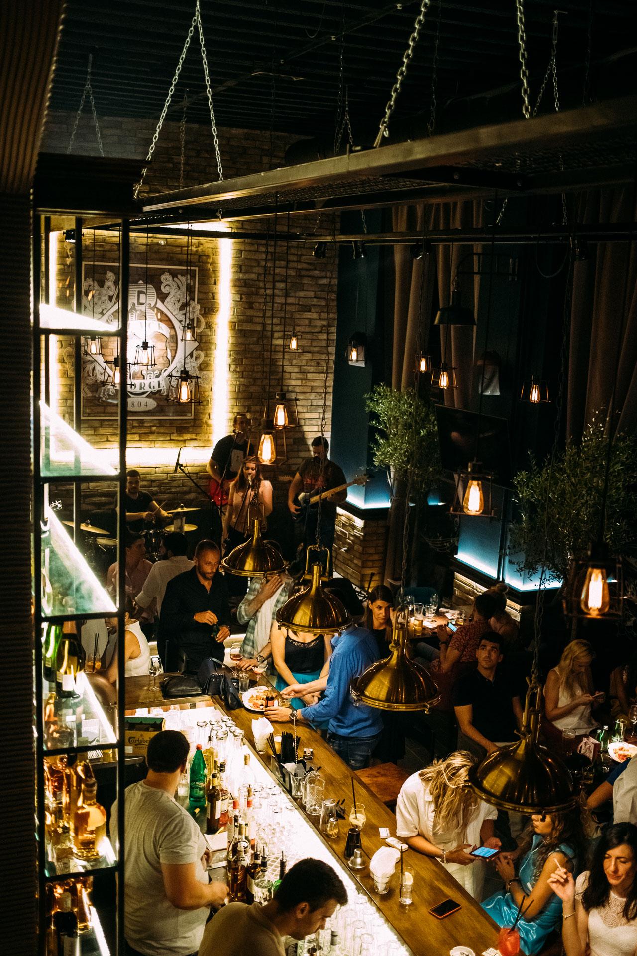 Restoran Black George Beograd Rezervacije 062 262 212